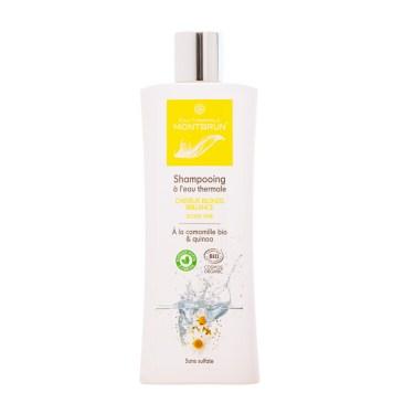 Shampooing traitant bio cheveux blonds et colorés - Eau thermale Montbrun