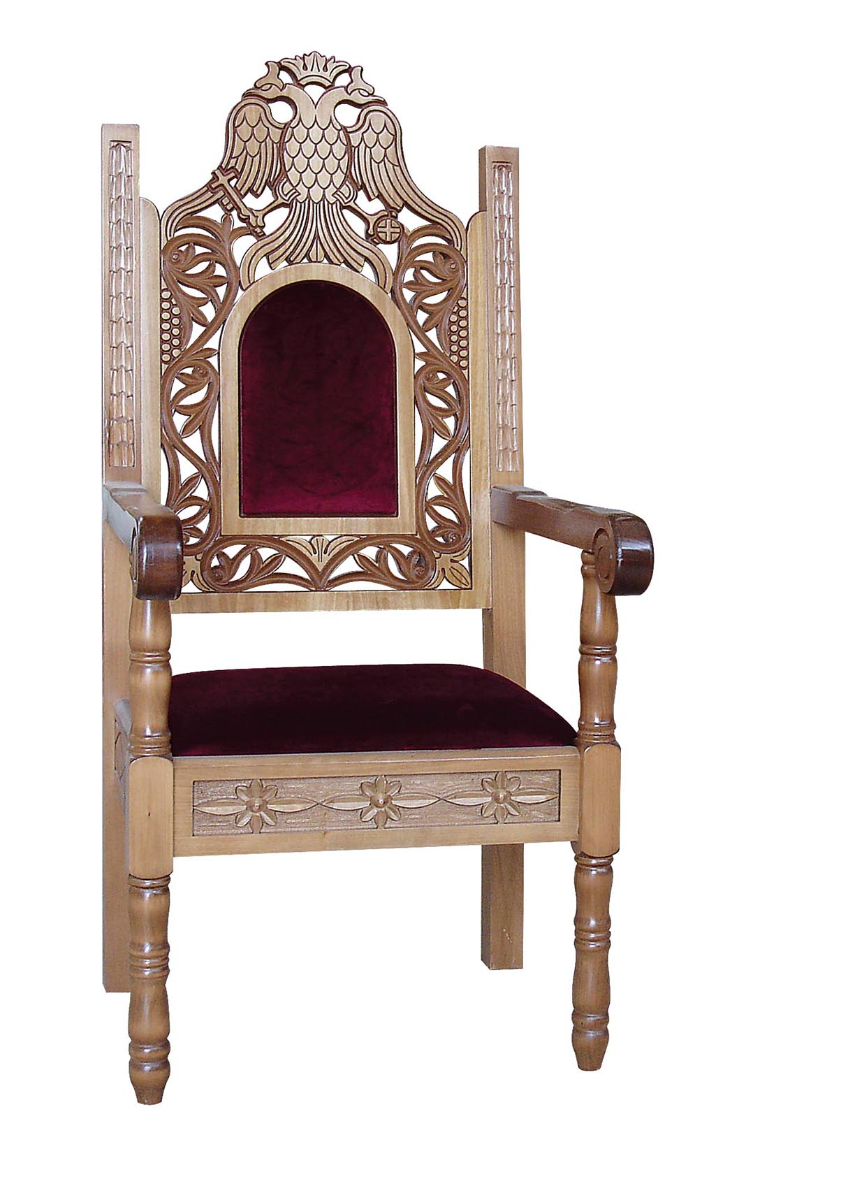 Bishop's Chair Alpha Omega Church Supplies Orthodox Ecclesiastical Art