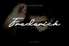 Frederick - Classic Script Font
