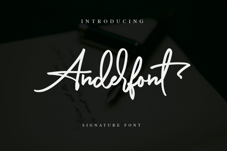 Preview image of Anderfont