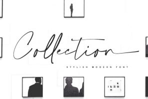 Collection - Stylish modern font
