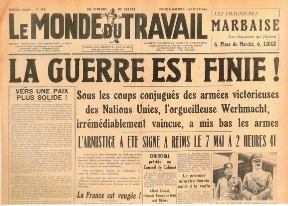 Le Monde du Travail : Histoire du journal de la Fédération Liégeoise du PS