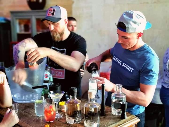 Alpha Spirit cocktail