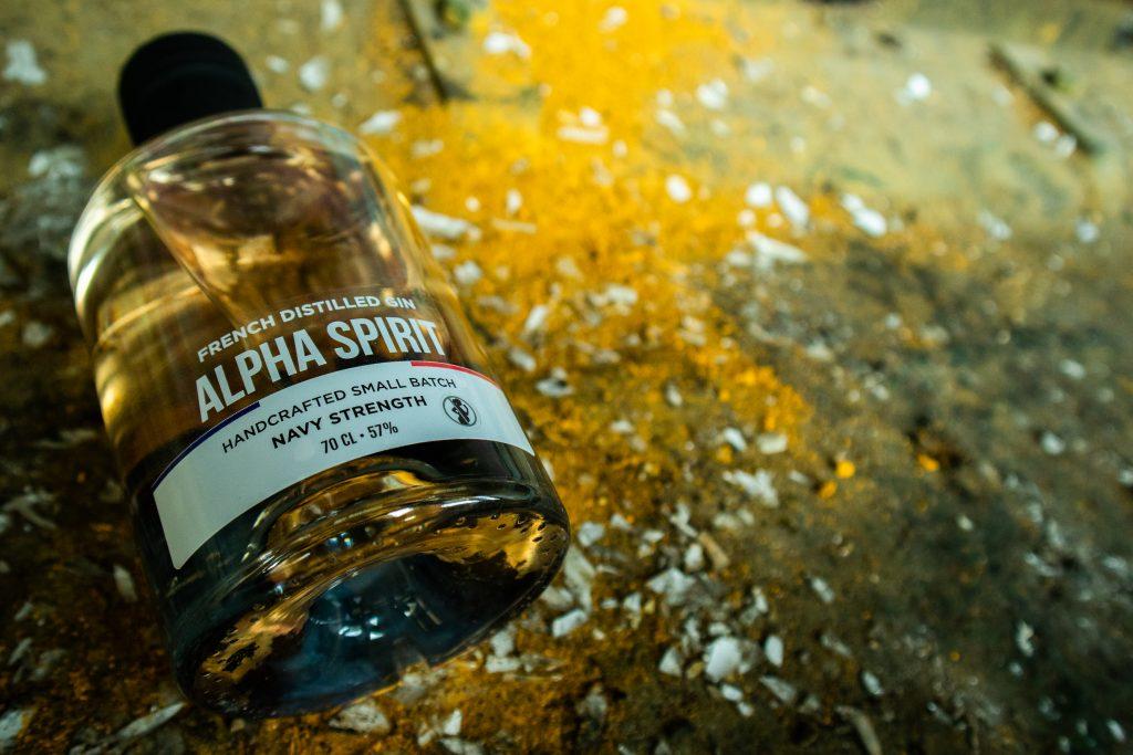Alpha Spirit Gin Navy Strength