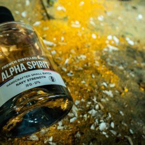 Alpha Spirit Gin Navy Strength 57%/70cl