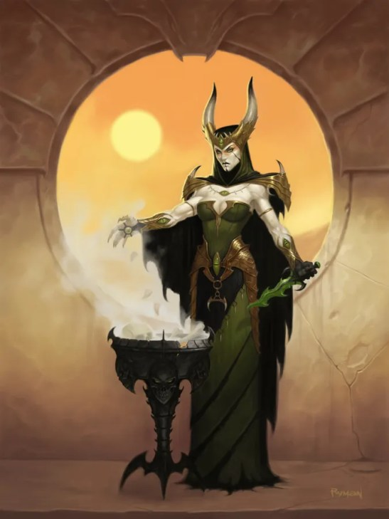 Dark Sun Witch by James Ryman