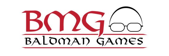 Baldman Games Logo