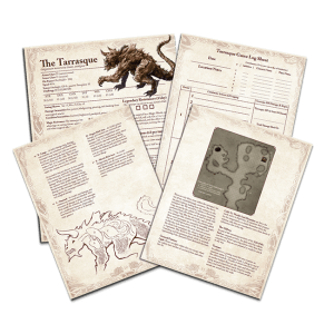 The Tarrasque and Halaster's Maze of Madness: Encoded