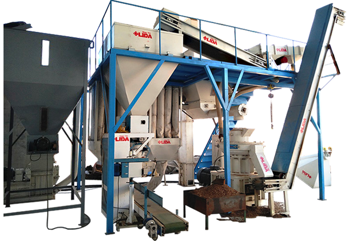 Lida 1-1.5 pellet production line
