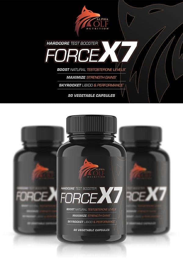 Alpha Wolf Nutrition Testosterone Force X7