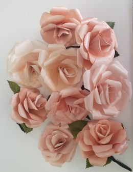Paper Roses Bunch