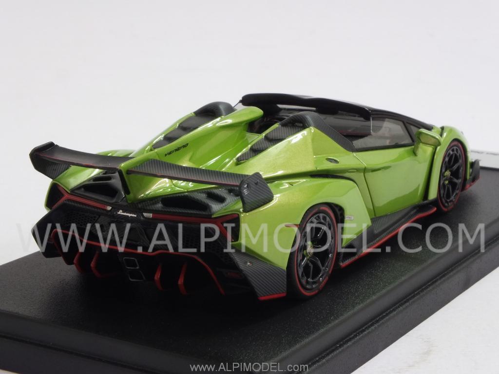 Looksmart Lamborghini Veneno Roadster 2014 Ithaca Green