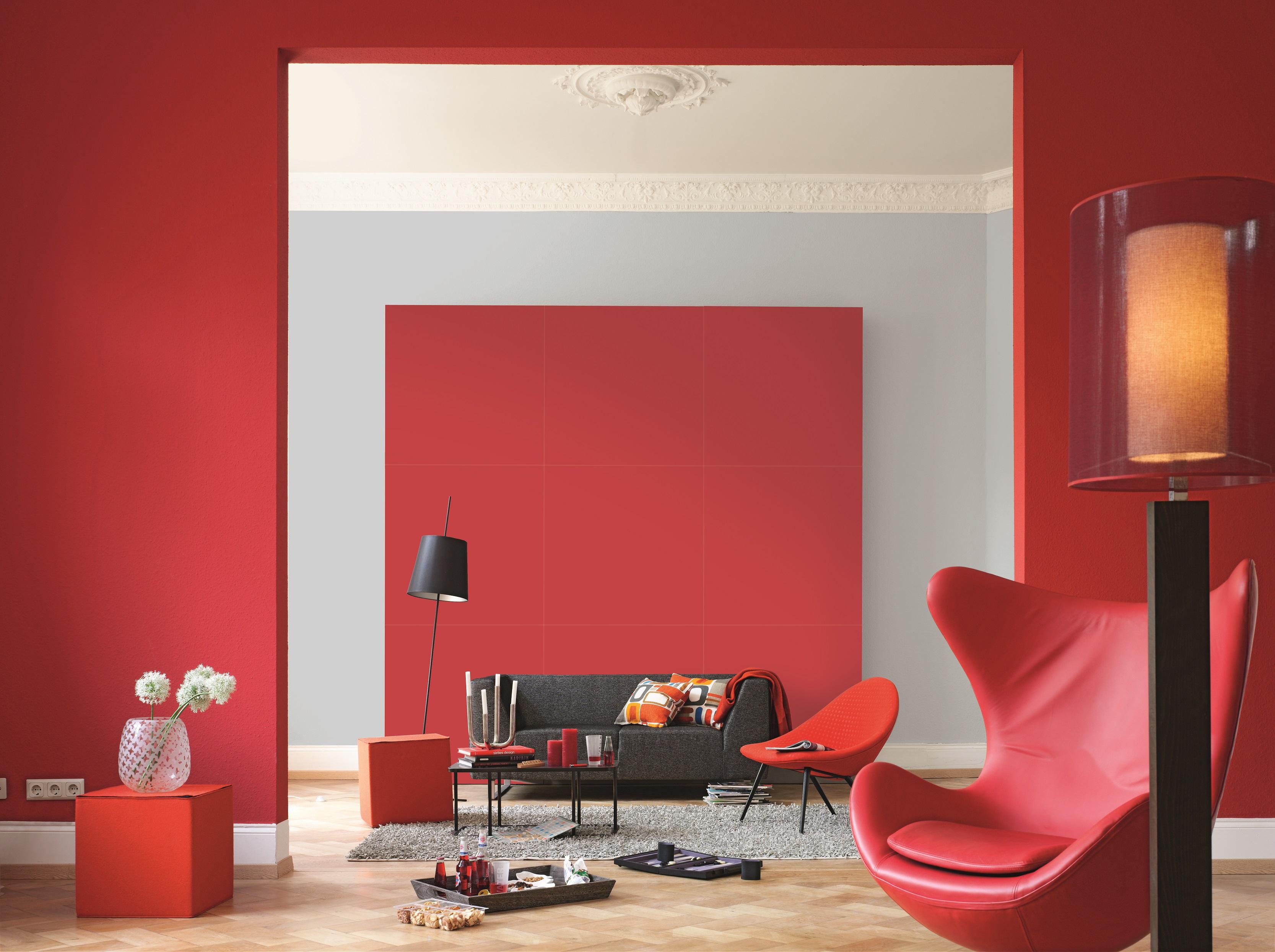 Farbwirkung von Wandfarben Alpina Farbe  Wirkung