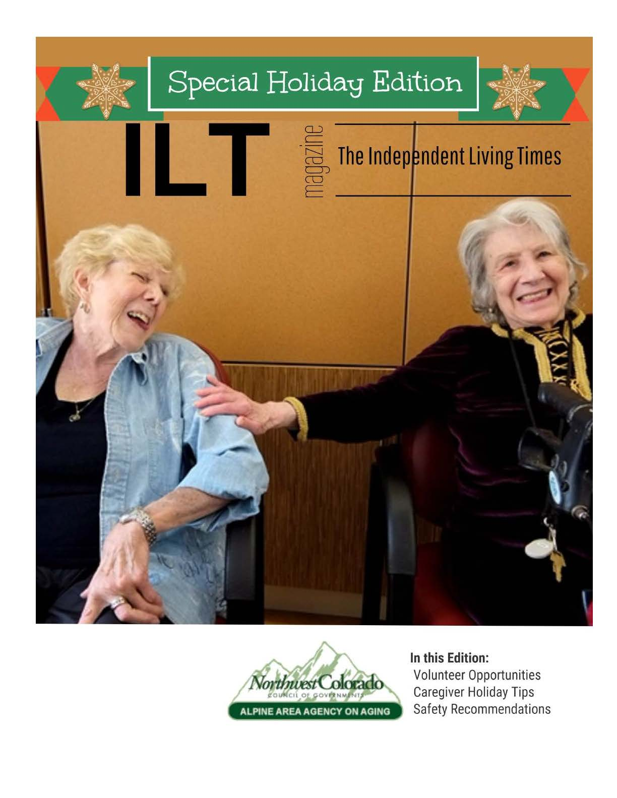 Independent Living Times December February Edition