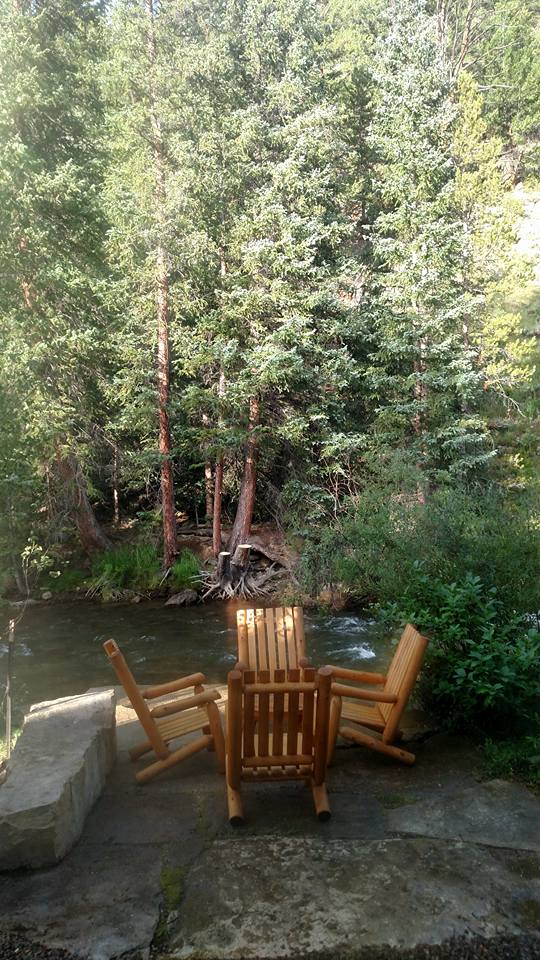 Backyard Wooden Chairs