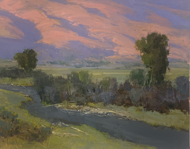 Oil painting, Upper Provo