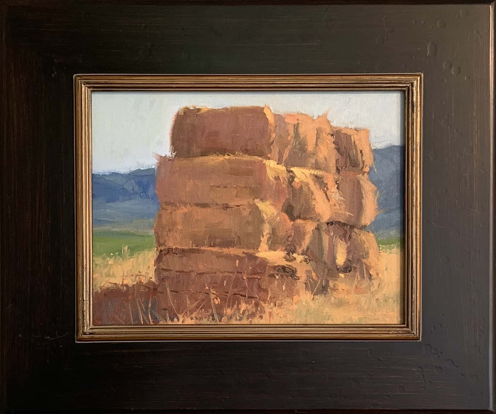 Oil on Linen haystack