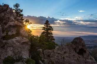 Neff's Canyon Sunset