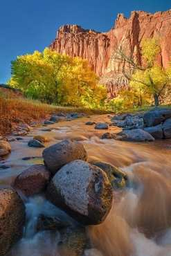Justin_Soderquist_Autumn Afternoon on a Red Rock River