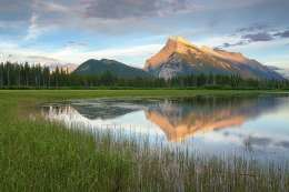 Justin_Soderquist_Mt. Rundle Sunset