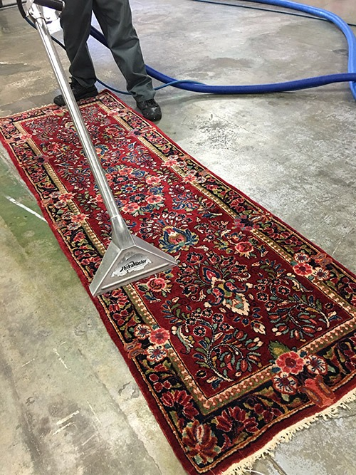 Area Rug Steam Cleaning Process