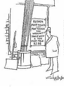 the 10 foot pole