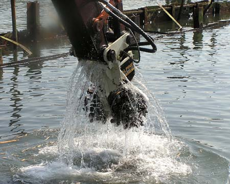 Underwater Cutting Applications For Rock Grinding And Drum Cutters