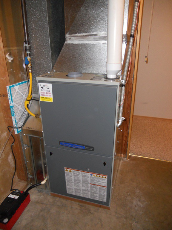 Lennox to American Standard 95% 2 stage Variable Speed