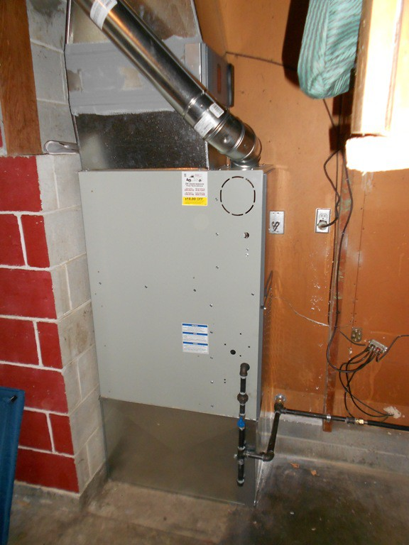 An Oil to Gas Furnace Upgrade