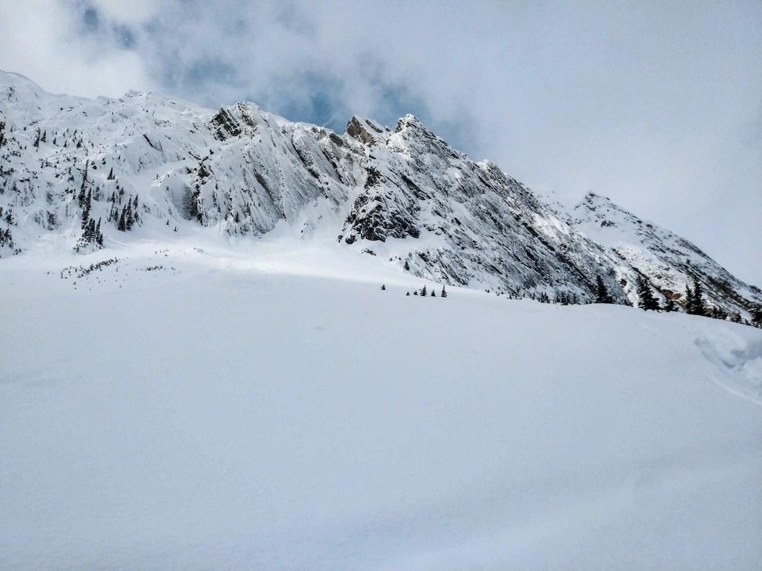 Mt Ogden above Sherbrooke Lake