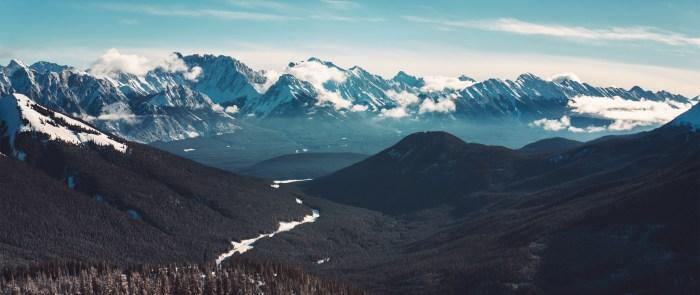 Kananaskis Banff National Park Wallpaper 2560x1080