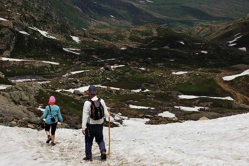 Sonamarg to Nichanai trekking