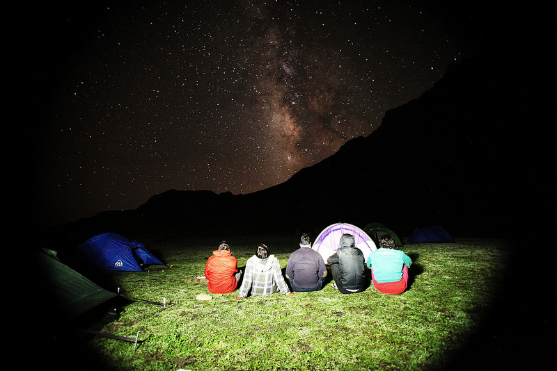 Vishansar milky way