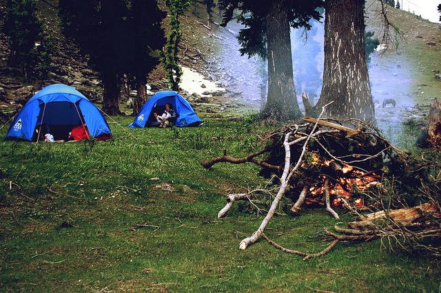 Pahalgam camping
