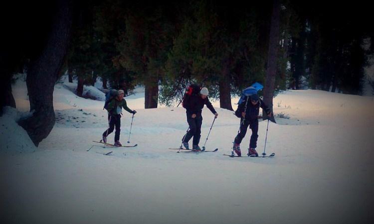 Kashmir alpine SKI IN Aru valley