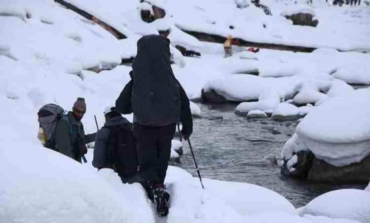 winter day hiking tours Srinagar