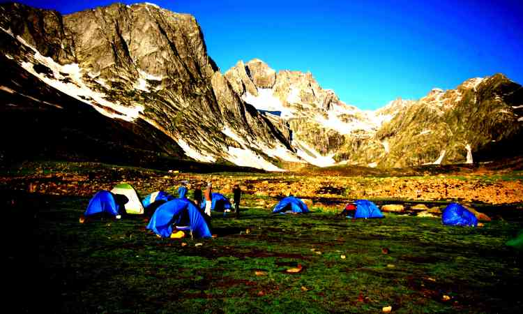 Nobra valley camping