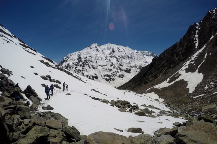 Mountain Climbing in Kashmir Himalayas