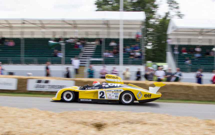 Les 60 ans d'Alpine à Goodwood