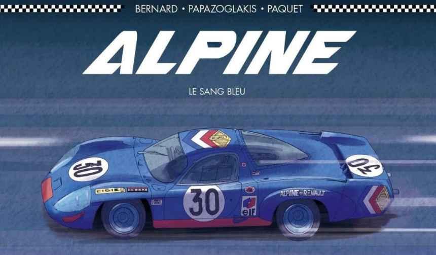 Alpine, le sang bleu (BD)
