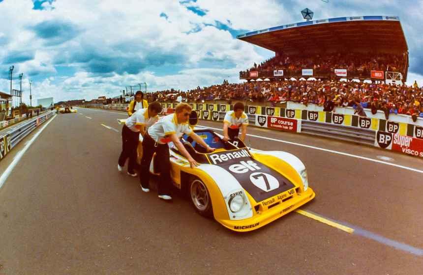 Le Mans Classic 2016: 4 Alpine en course