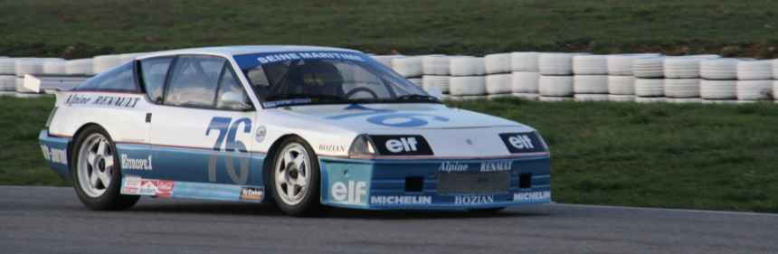 Livre: Alpine GTA Production 86′
