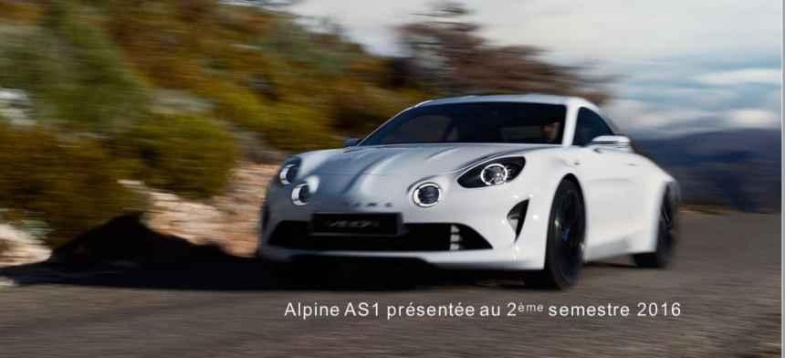 Alpine annonce le modèle définitif !