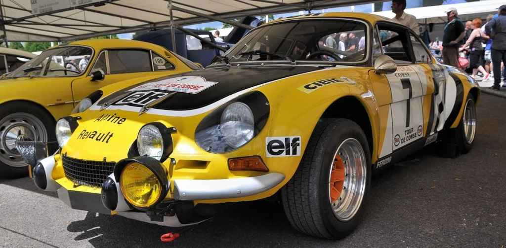 Festival of Speed Goodwood - Alpine A110
