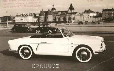 Alpine A106 Cabriolet