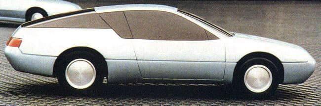 Etude Alpine GTA Berex 2