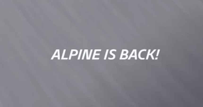 Alpine is Back, Retour sur une journée mythique
