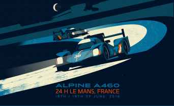 Alpine Cars Posters - 3