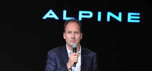 Entretien avec Michael van der Sande, Directeur Général d'Alpine