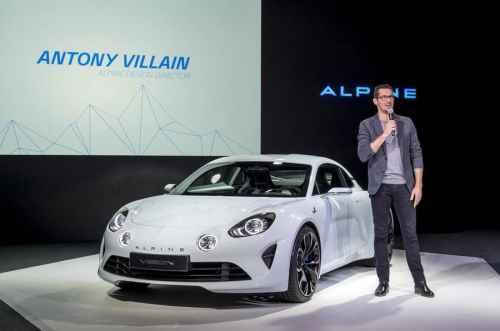 Entretien avec Antony Villain, Directeur Design d'Alpine